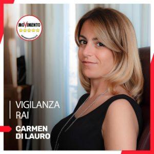 Carmen Di Lauro M5S Vigilanza RAI